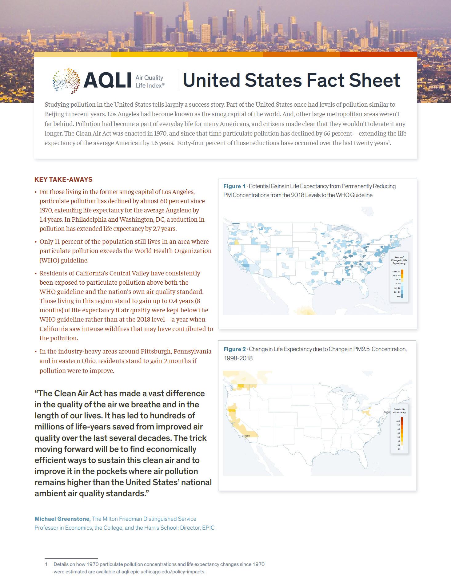United States Fact Sheet